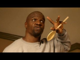 "Terry Crews ""I will survive""."